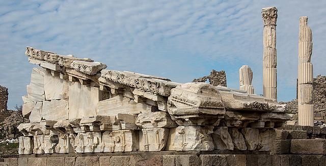 20151207 9807VRAw [R~TR] Trajans Tempel, Pergamon, Bergama