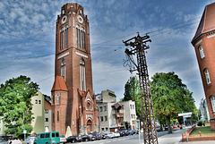 Turm der Lutherkirche - Swinoujscie Swinemünde