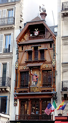 Paris, façade alsacienne