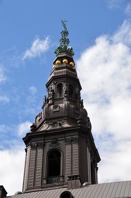 Turm von Schloss Christiansborg in Kopenhagen