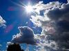 Clouds, Springvale, Cwmbran 15 August 2017