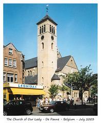 The Church of Our Lady - De Panne - 7 2003