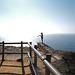 Cabo Espichel, Insane selfie fan on the edge of the cliff, HFF
