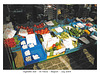 Vegetable stall - De Panne - Belgium - July 2003