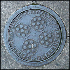 Hayward Brothers coal hole cover