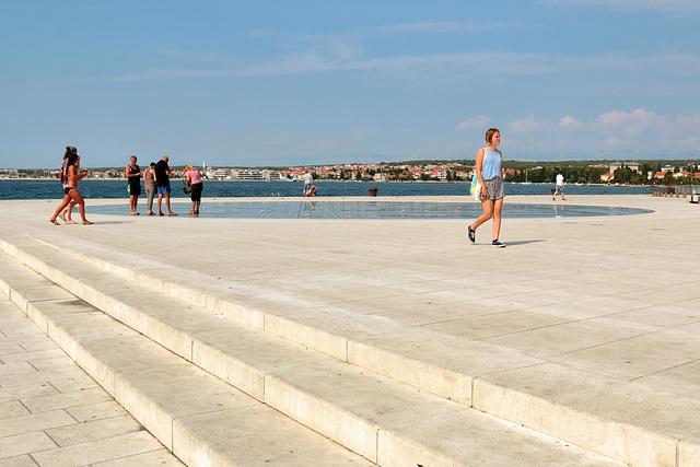 "Zadar - ""Gruß an die Sonne"" (1)"