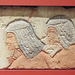 Egyptian Relief with Two Royal Attendants in the Virginia Museum of Fine Arts, June 2018