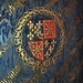canterbury cathedral (73) heraldry on canopy of c15 tomb of king henry iv +1413 and queen joan of navarre +1437