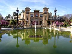 Museo de Artes y Costumbres Populares de Sevilla - Ethnologisches Museum im Parque de María Luisa in Sevilla