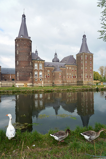 Castle Hoensbroek _Netherlands