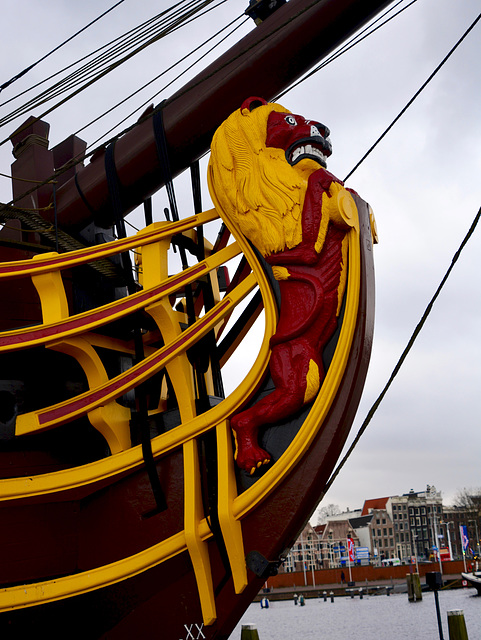 Scheepvaartmuseum 2016 – Figurehead of the Amsterdam
