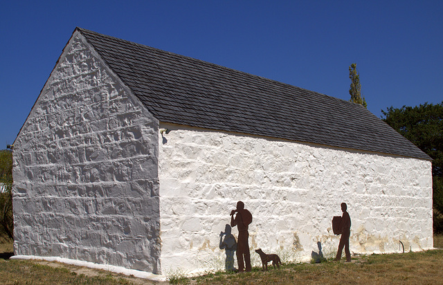 Barn at Lanyon Homestead
