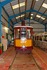 Tram in the Workshop at Summerlee Museum, Coatbridge
