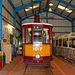Tram in the Workshop at Summerlee Museum, Coatbridge