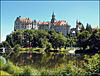 Schloss Sigmaringen zur Zeit der Landesgartenschau 2013
