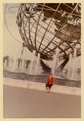 The Unisphere at the New York World's Fair of 1964-1965