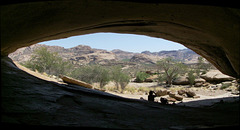 Inside Phillips Cave