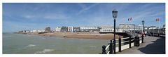 From Worthing Pier to the west 16 05 2019