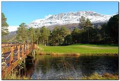 Golfpark Skjomen bei Narvik, Norwegen