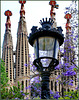 Barcellona : La Sagrada Familia frontal