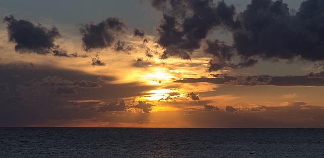Sunset from Viken, Sweden