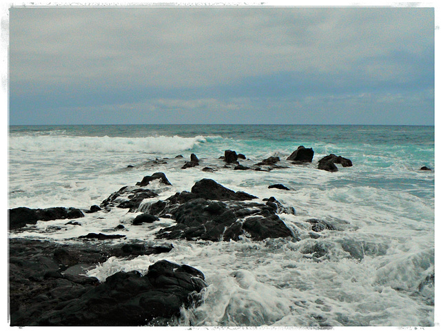 das Meer an der Nordküste