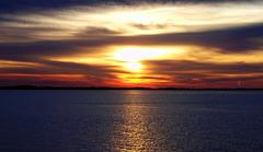 Sunset over Denmark