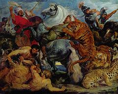 La chasse au tigre, par Peter Paul Rubens