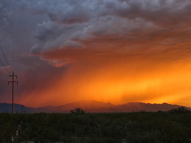 Storm Over Fort Huachuca