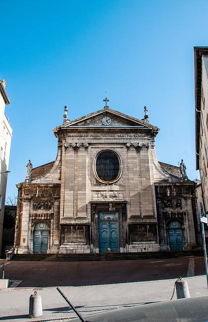 Lyon 5°   Eglise St. Just.