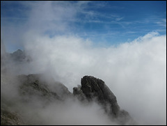 In den Wolken