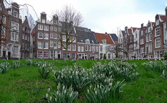 Nederland - Amsterdam, Begijnhof