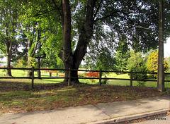 Outside The Lake Park.