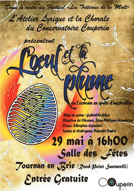 Concert à Tournan-en-Brie le 29 mai 2016