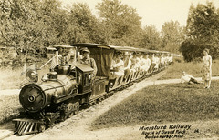 Miniature Railway, House of David Park, Benton Harbor, Michigan