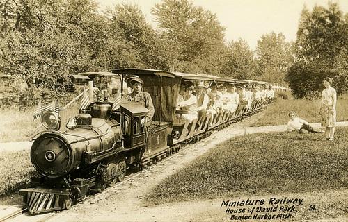 Miniature Railway, House of David Park, Benton Harbor, Michigan