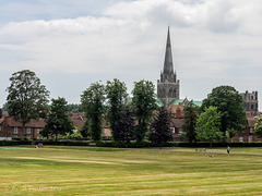 A view of Chichester Cathedral