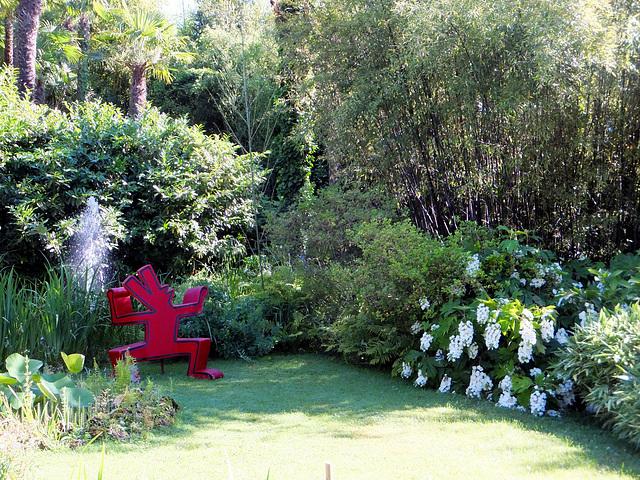 Botanischer Garten Andre Heller, Arthur Hruska. ©UdoSm