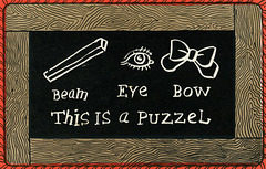 Beam Eye Bow—A Puzzle