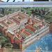 Reconstruction du palais de Dioclétien.