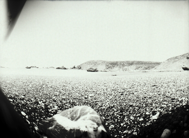Shell Beach pinhole