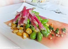 Tuna and edamama appetizer - Yum