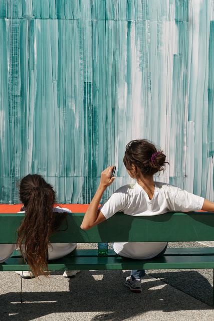 Graffeurs à La Défense (4)