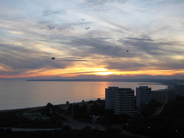 Sunset over the Bay of Lagos (2009)
