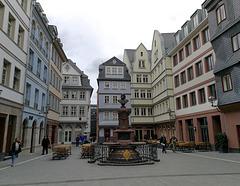 Frankfurt - Altstadtrekonstruktion - Hühnermarkt