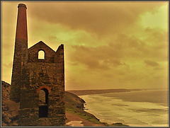 H. A. N. W. E. everyone! Towanroath pumping engine house at Wheal Coates tin mine, Cornwall (suggest OK on large, z, full screen, etc)