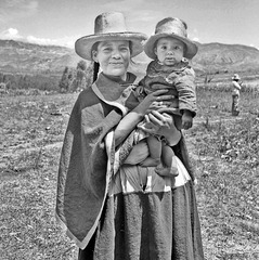 Another Cajamarca proud and smiling mother.