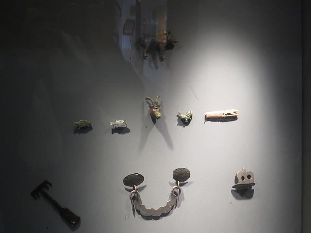 Jublains : éléments de ferronerie.