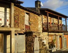 Village houses.