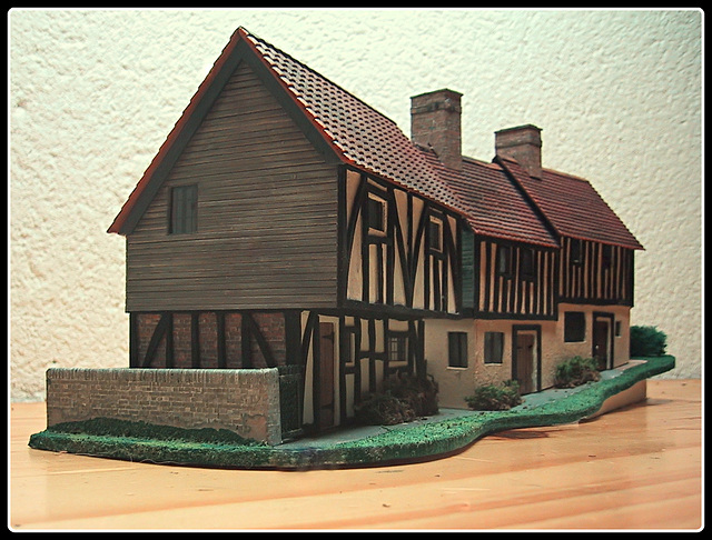 Half- Timbered Cottages